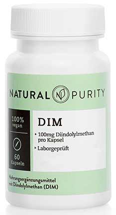 Di-Indolyl-Methan (DIM) Kapseln von Natural Purity