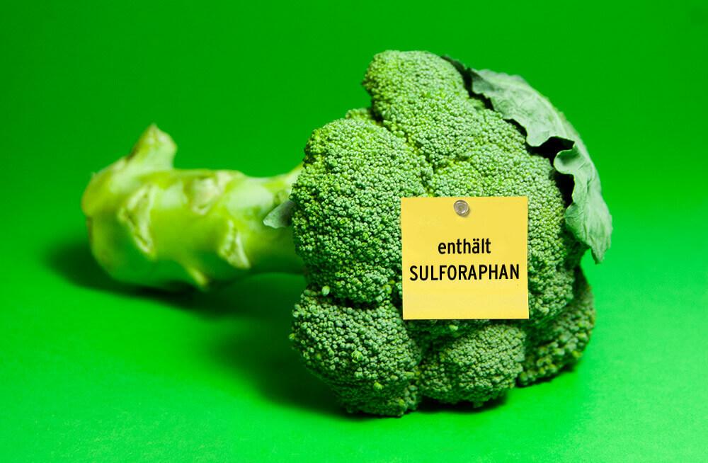 Brokkoliphoto mit Sulforaphan